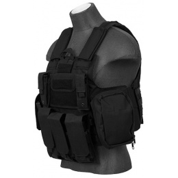 Lancer Tactical Strike Tactical Apparel Vest [Medium] (Black)
