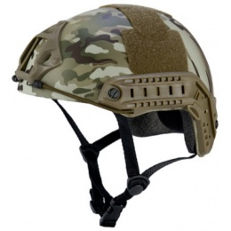 Lancer Tactical Fast Ballistic Type Tactical Gear Helmet - MODERN CAMO