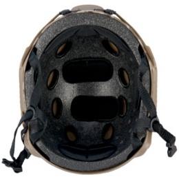 Lancer Tactical Fast Ballistic Type Tactical Gear Helmet - MODERN CAMO