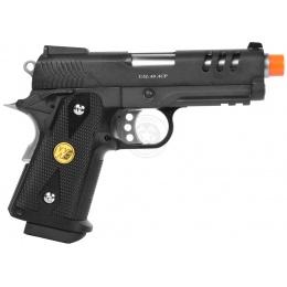 WE Tech Full Metal 3.8 Baby Hi-Capa Gas Blowback Pistol