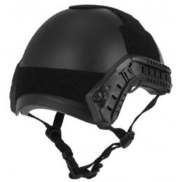 Lancer Tactical FAST Ballistic Type Tactical Gear Helmet - BLACK
