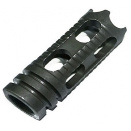 Lancer Tactical Phantom Airsoft Flash Hider w/ CCW 14mm Threading