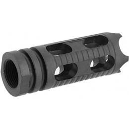Lancer Tactical Phantom Airsoft Flash Hider w/ CCW 14mm Threading