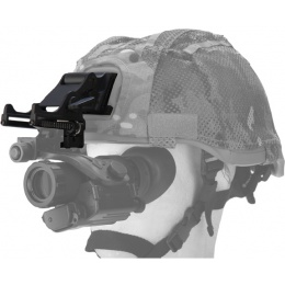 Lancer Tactical Airsoft Helmet NVG Accessory Mount - TAN