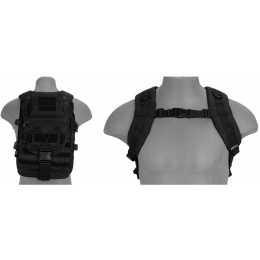 Lancer Tactical CA-357B Tactical Gear Laptop Backpack - BLACK