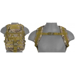 Lancer Tactical CA-357C Tactical Gear Laptop Backpack - Camo