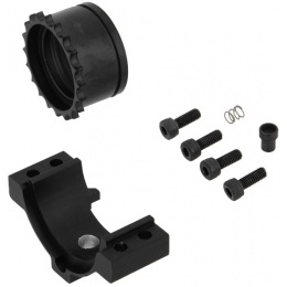 Lancer Tactical Airsoft MFR 7-inch RIS for M4 Series AEG - BLACK