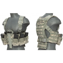 Lancer Tactical M4 Tactical Apparel Chest Harness - ACU