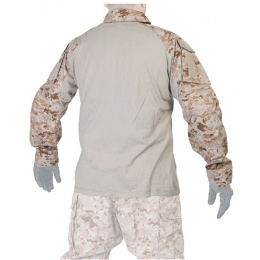 Lancer Tactical GEN3 Tactical Apparel Combat Shirt - Desert Digital - LG