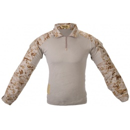 Lancer Tactical GEN2 Tactical Apparel Combat Shirt - Desert Digital