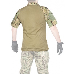 Lancer Tactical Tactical Combat Short Sleeve Shirt - JUNGLE DIGITAL
