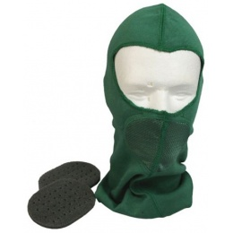 G-Force Tactical Airsoft Balaclava w/ Integrated Mouth Guard - OD