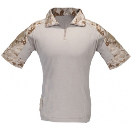 Lancer Tactical Combat Uniform BDU Shirt [Short Sleeve] - DIGITAL DESERT