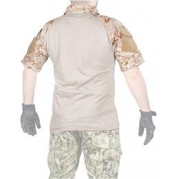 Lancer Tactical GEN2 Tactical Apparel Combat Shirt - Desert Digital - MD