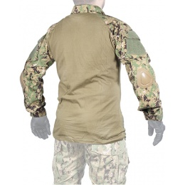 Lancer Tactical GEN2 Tactical Apparel Combat Shirt - Jungle Digital - S
