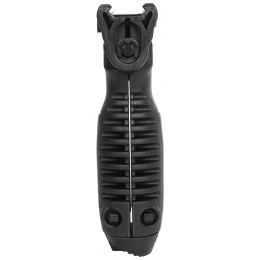 BattleAxe ACG Rapid Deploy Bipod Foregrip for Airsoft Rifles - BLACK