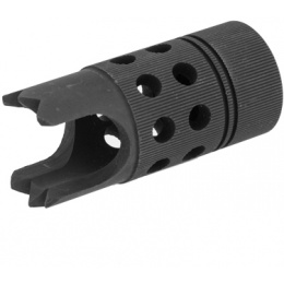 Lancer Tactical CA-664 Flash Hider w/ Realistic finish and appearance