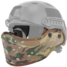 Lancer Tactical Airsoft Lower Face Mask for Helmet - CAMO