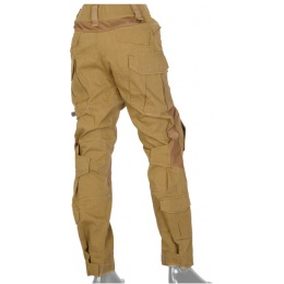 UK Arms Airsoft GEN2 Tactical Pants w/ Knee Pads - COYOTE TAN - X - LARGE