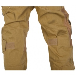 UK Arms Airsoft GEN2 Tactical Pants w/ Knee Pads - COYOTE TAN - LARGE