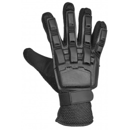 G-Force Nitrex Tactical Gloves w/ Rubberized Protection (LRG) - BLACK