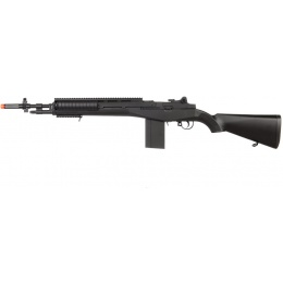 UK Arms Airsoft M14 Spring Tension Rifle w/ Tactical Rail and Covers