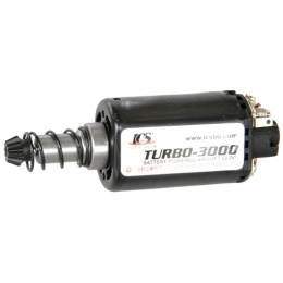 ICS Airsoft Turbo 3000 Long Pin Version 2 AEG Motor - BLACK