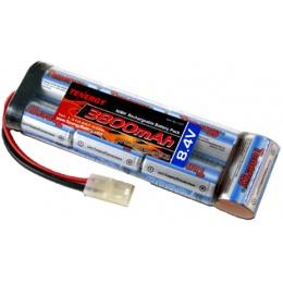 Tenergy Airsoft 8.4V 3800mAh NiMH Large Battery Brick - 3800mAh