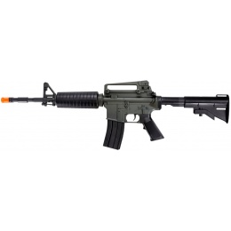 UK Arms Airsoft M4 AEG Adjustable Stock ABS Plastic - BLACK