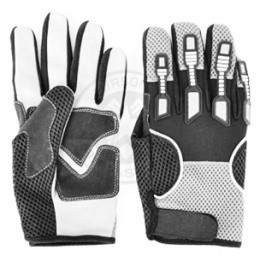 G-Force Airsoft Tactical Large DELTA-SPEC Mesh Hybrid Gloves - BLACK