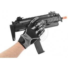 G-Force Airsoft Tactical Large DELTA-SPEC Mesh Hybrid Gloves - BLACK