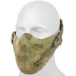 AMA Neoprene Airsoft Hard Foam Lower Face Mask - AT-FG