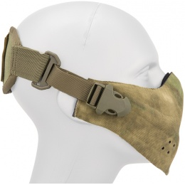 AMA Neoprene Airsoft Hard Foam Lower Face Mask - AT-FG