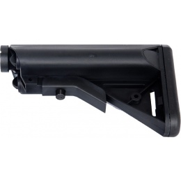 DBoys Airsoft M4/M16 Series AEG Retractable Crane Stock - BLACK