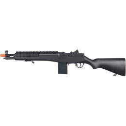 Double Eagle Airsoft M14 Spring Powered Rifle Quad RIS - BLACK