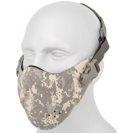 AMA Neoprene Airsoft Hard Foam Lower Face Mask - ACU