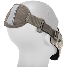 AMA Neoprene Airsoft Hard Foam Lower Face Mask - ACU