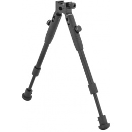 Well Airsoft MB1000 Bipod with Rail Attachment - BLACK