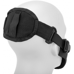 AMA Neoprene Airsoft Hard Foam Lower Face Mask - BLACK