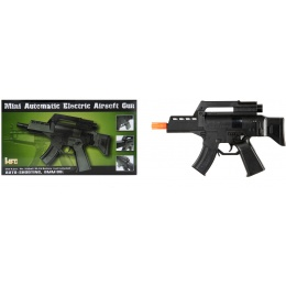HFC Airsoft Mini Assault Pistol w/ Carrying Handle - BLACK