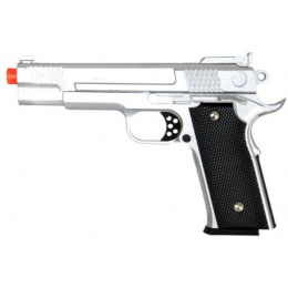 UK Arms Airsoft G20S Metal Spring Pistol - SILVER