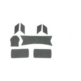 Lancer Tactical Maritime Helmet Devil Hook and Loop Stickers- GREEN