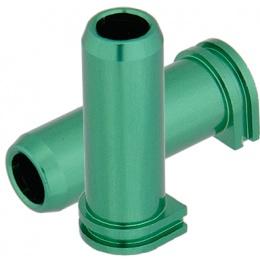 Lancer Tactical Aluminum M14 Long Nozzle (Color: Green)