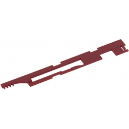 Lancer Tactical Airsoft Version 3 AEG Selector Plate - RED