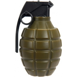 Lancer Tactical 0.20g 700rd Airsoft Dummy Grenade BB Bottle - OD GREEN