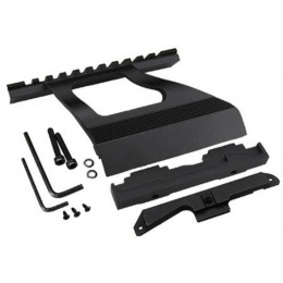 ICS MK-49 Airsoft Rail Systems Mount for IK Series - BLACK