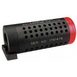ICS MA-19A Airsoft Barrel Extension for M4 / M16 Series - BLACK
