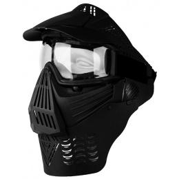 G-Force KING Elite Full Face Extended Clear Face Mask w/ Visor