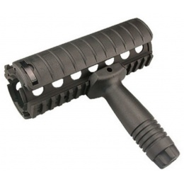 ICS MA-58 Airsoft Rail Systems Matte Finish - BLACK