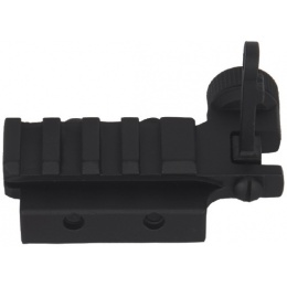DBoys BIP-04 Iron Sights w/PDW Flip-Up Rear Sight Base